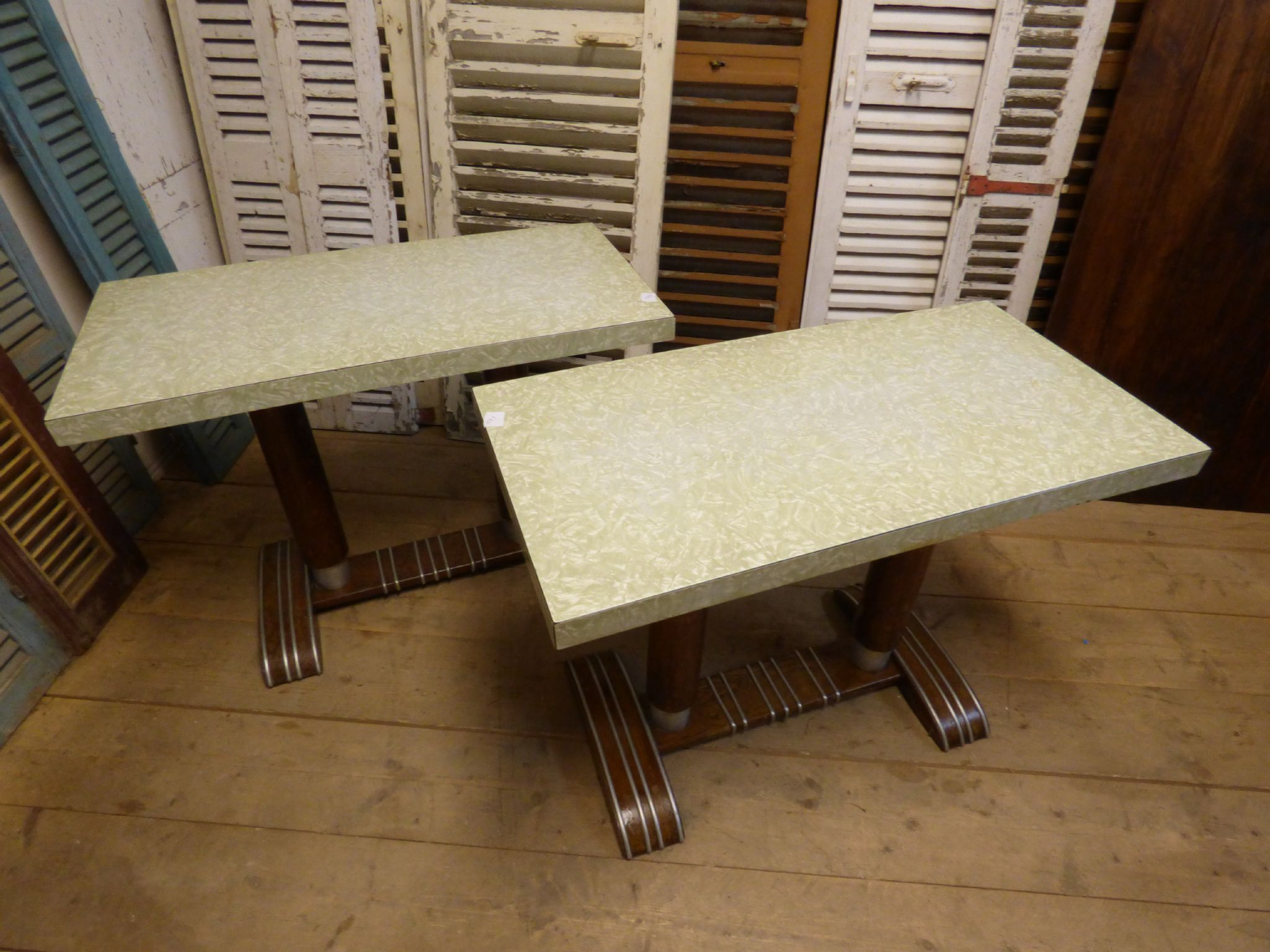Original French Bistro / Cafe Tables   £175 Each ...